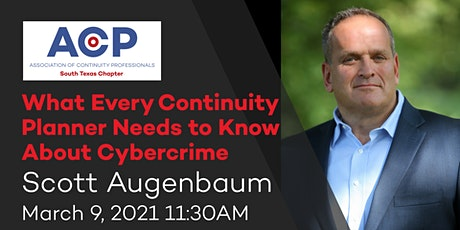 What Every Continuity Planner Needs to Know About Cybercrime tickets