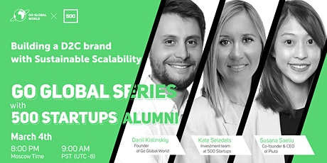BUILDING A D2C BRAND  WITH SUSTAINABLE SCALABILITY tickets