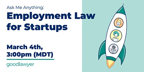 Ask Me Anything: Employment Law for Start-Ups tickets
