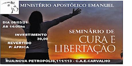 Seminário de CURA LIBERTAÇÃO ingressos