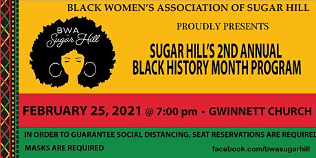 Sugar Hill's 2nd Annual Black History Month Program tickets