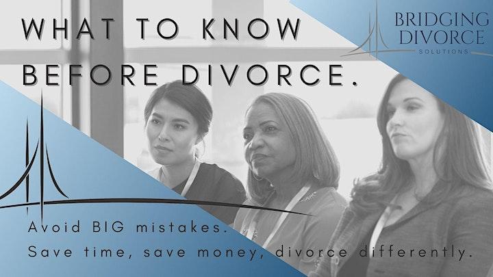 Girlfriends' Guide to Divorce - Bridging Divorce Solutions Workshop image