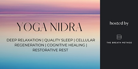 YOGA NIDRA  with Caroline Gamble tickets