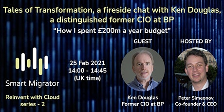 Fireside chat with Ken Douglas - a distinguished former CIO at BP tickets