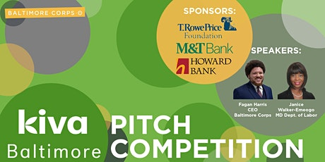 Kiva Baltimore Pitch Competition 2021 tickets