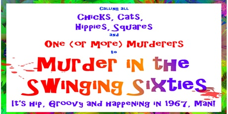 Murder in the Swinging Sixties Mystery Party tickets
