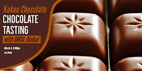 Kakao Chocolate Tasting with UMSL Global on Zoom! tickets