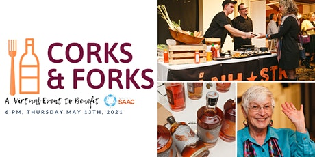 Corks & Forks | A Virtual Fundraiser for Montco SAAC tickets