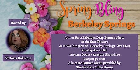 Spring Bling Berkeley Springs tickets