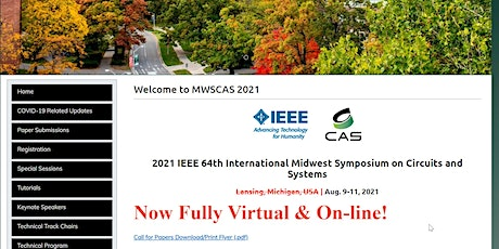 IEEE MWSCAS 2021 Conference tickets