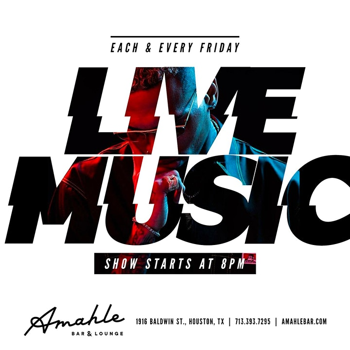 Live Music Fridays at Amahle Bar & Lounge image