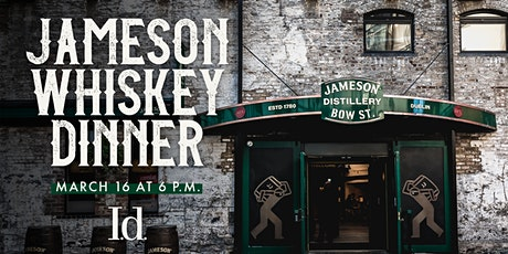 Jameson Whiskey Dinner tickets