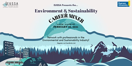Environment and Sustainability Career Mixer tickets