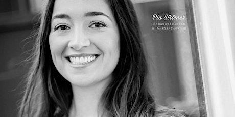 Glückstraining für Kinder mit Schauspielerin und Klinikclownin Pia Strömer Tickets
