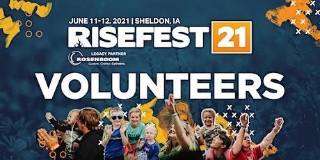 RiseFest 2021 Volunteers tickets
