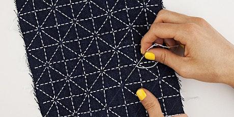 Textile Hour Series | Sashiko with Jessica Marquez of Miniature Rhino tickets