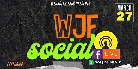 WeJustFriends Social tickets
