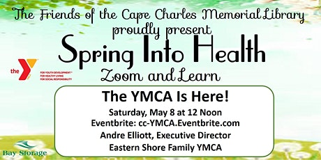 FCCML 2021 Zoom & Learn Spring Into Health Series: YMCA is Here! tickets