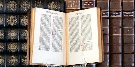 Rare Books and Incunabula Exhibition tickets