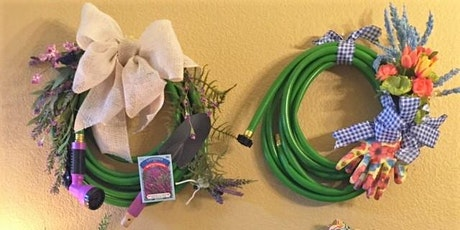 Garden Hose Wreath Workshop tickets