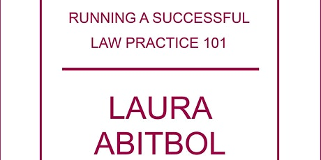 Running a Successful Law Practice 101 tickets