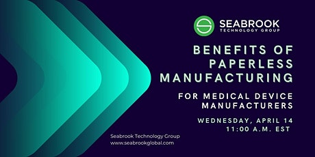 Paperless Manufacturing: Benefits for Medical Device Manufacturers tickets