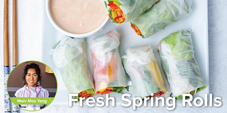 Fresh Spring Rolls with Peanut Sauce tickets