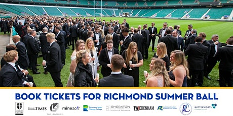 Richmond Summer Ball - Awards, Pitch-side  Reception, Dinner and Dancing biglietti