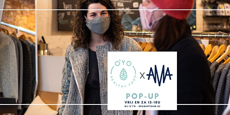 AMA pop-up private shopping tickets