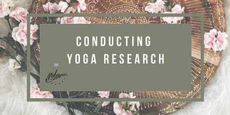 Conducting Yoga Research tickets