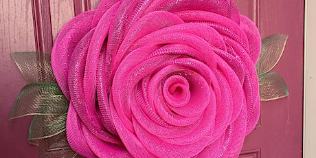 Mesh Rose Wreath Workshop tickets