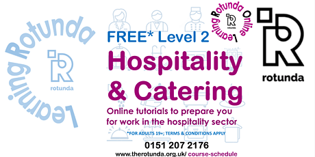 Level 2 Certificate in Hospitality & Catering Principles (Food Production & tickets