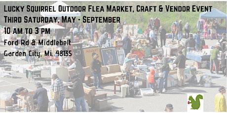 Garden City Lucky Squirrel Flea Market, Craft & Vendor Event tickets