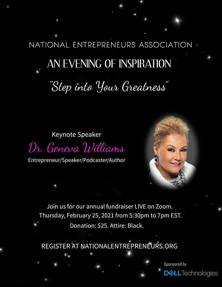An Evening of Inspiration: Step Into Your Greatness image