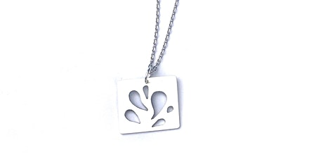 Silversmithing 101: Raindrop Necklace tickets