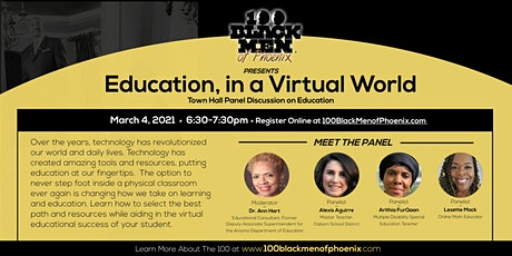 Education, in a Virtual World tickets