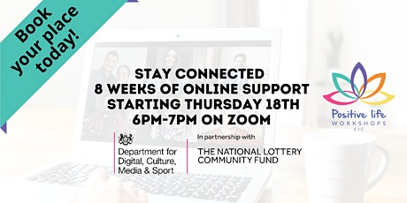 Stay Connected - online well-being tickets