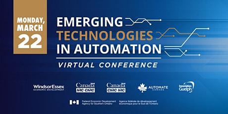 Emerging Technologies in Automation Virtual Conference tickets