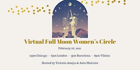 VIRTUAL FULL MOON WOMEN'S CIRCLE tickets