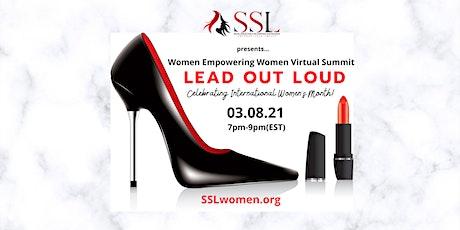 Lead Out Loud...Women Empowering Women Virtual Summit-Non member Tickets