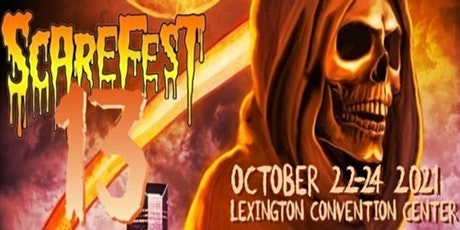 The Scarefest Horror & Paranormal Convention 2021 tickets