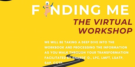 Finding Me: Virtual Workshop tickets