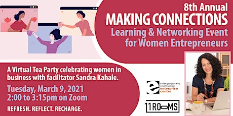 Making Connections - A  Networking Opportunity for Women Entrepreneurs biglietti