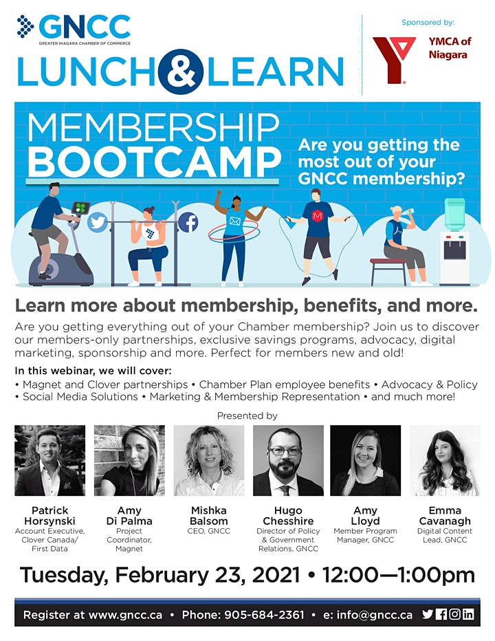Lunch and Learn: Membership Bootcamp image