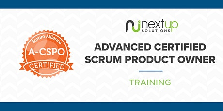 Advanced Certified Scrum Product Owner (A-CSPO) Training (Virtual) bilhetes
