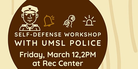 Self-Defense Training with UMSL Police tickets