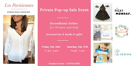 Private Sale LES PARISIENNES with PICKY MONDAY, SEW FRANCISCO and MYLIBOOK tickets