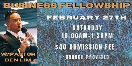 Business Fellowship tickets