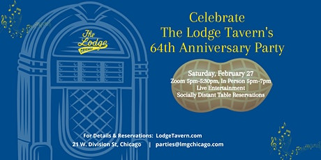 The Lodge Tavern's 64th Anniversary Party tickets
