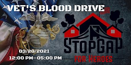 VET'S BLOOD DRIVE & NETWORK- Outdoor Event tickets